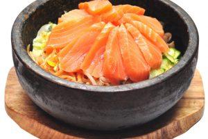 19 bibimbap de salmon